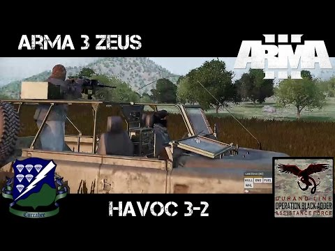 Op Black Adder Auxiliary Ops - ArmA 3 Zeus Gameplay