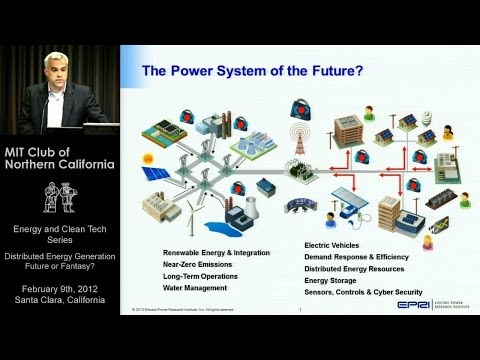 Distributed Energy Generation - Future or Fantasy?