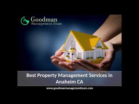 Best Property Management Services in Anaheim CA