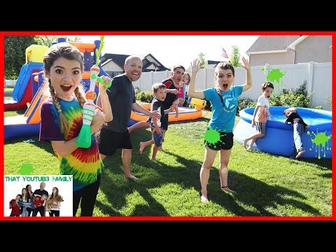 Slime Blaster Freeze Tag  That YouTub3 Family