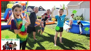 Slime Blaster Freeze Tag / That YouTub3 Family