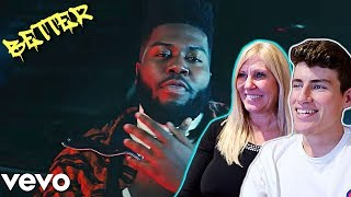 """MOM REACTS TO KHALID - """"BETTER"""" OFFICIAL MUSIC VIDEO!!!"""