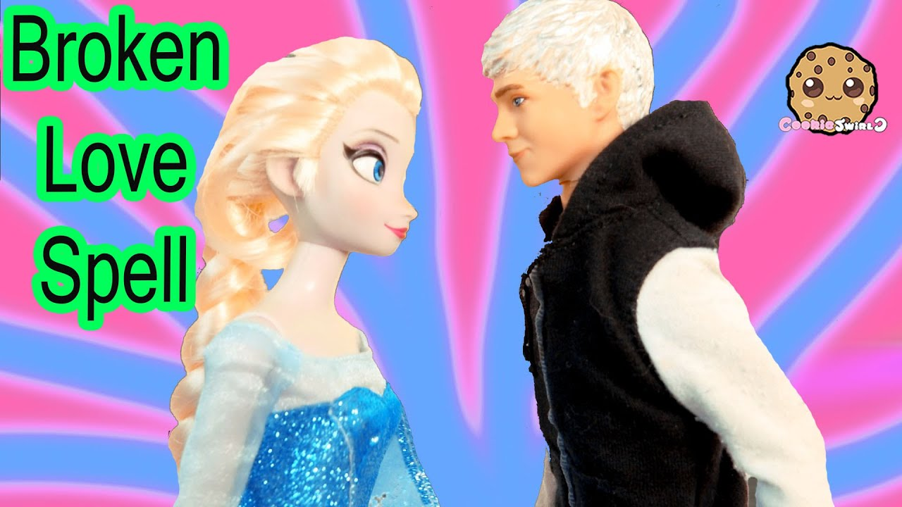 Queen Elsa Disney Frozen Broken Love Spell Part 40 Jack
