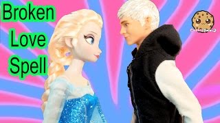 Queen Elsa Disney Frozen Broken Love Spell Part 40 Jack Frost Princess Anna Dolls Series Video