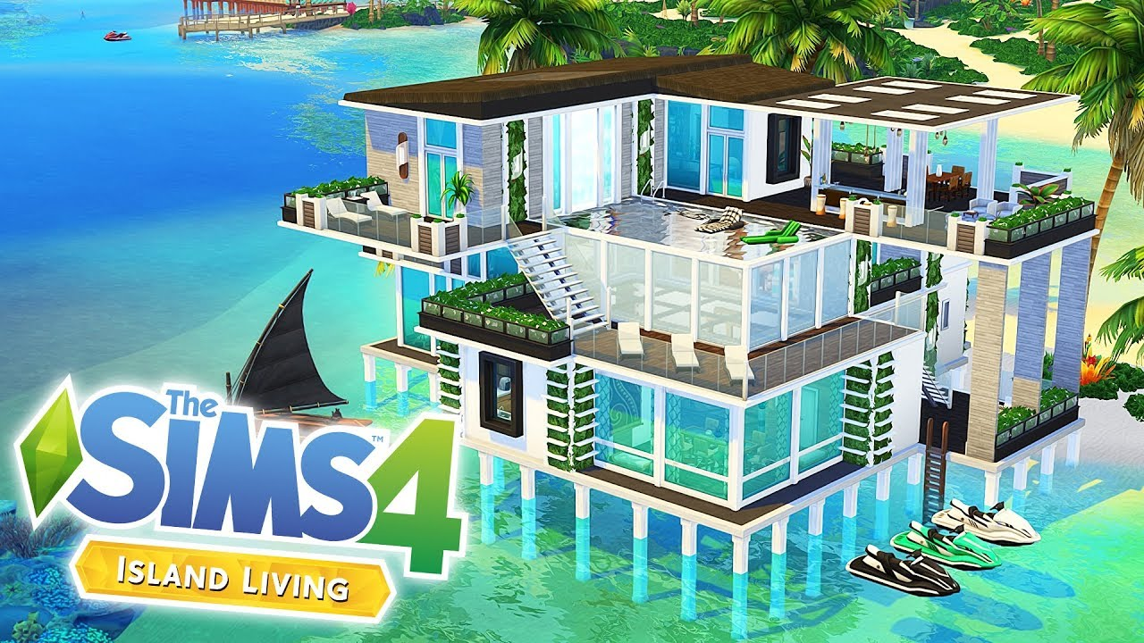 SULANI MODERN BEACH HOUSE 🌞   The Sims 4: Island Living   Speed Build