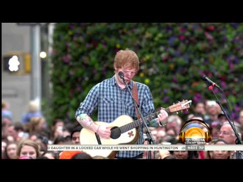 Ed Sheeran- Thinking Out Loud [Today Show...