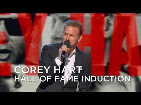 Corey Hart's induction into the Canadian Music Hall of Fame