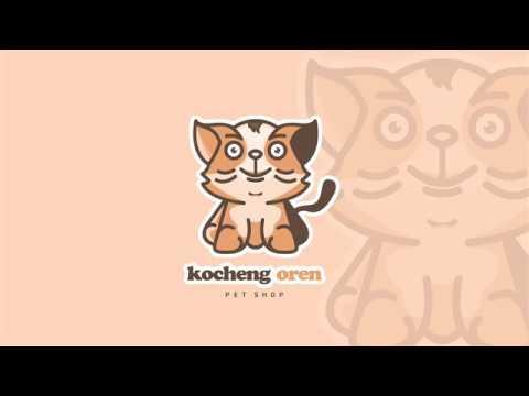 daily-design---kocheng-oren-pet-shop-logo-design