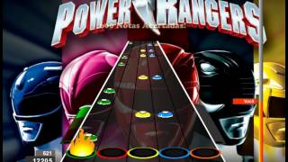Guitar Flash Custom - Mighty Morphin - Power Rangers 100% FC Expert