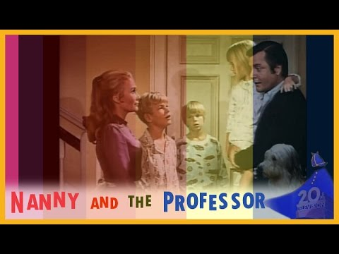 Nanny and the Proffessor 1970  1971  and Closing Theme With Snippets