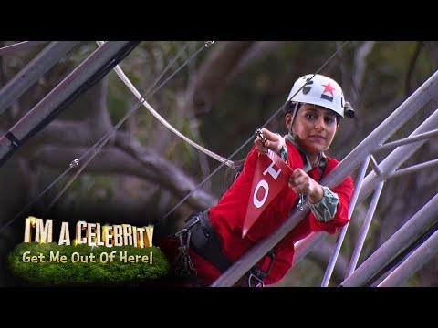 John and Sair Step Up to the Edge  I'm a Celebrity...Get Me Out of Here!