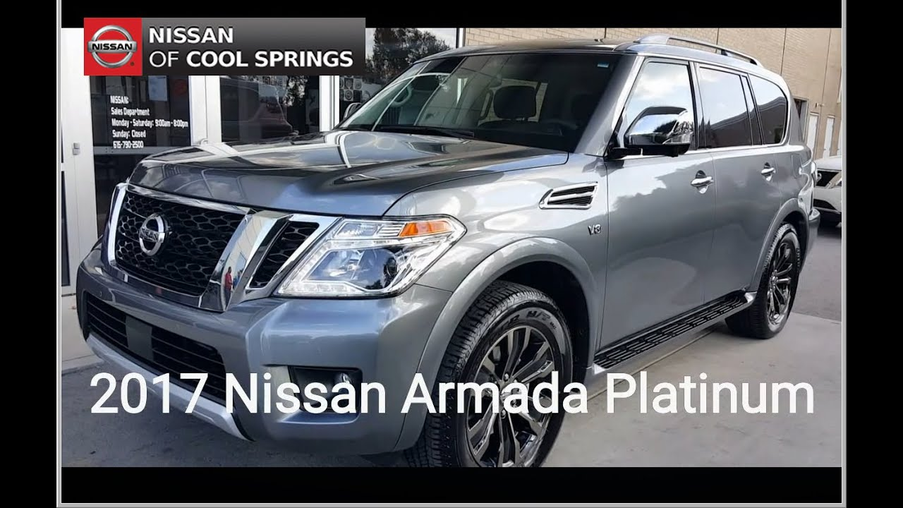 All New 2017 Nissan Armada At Nissan Of Cool Springs In Franklin TN