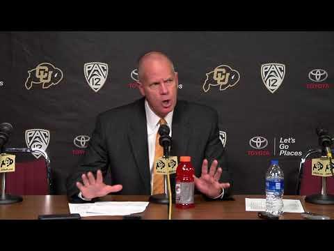 Buffs vs Denver Tad Boyle Press Conference