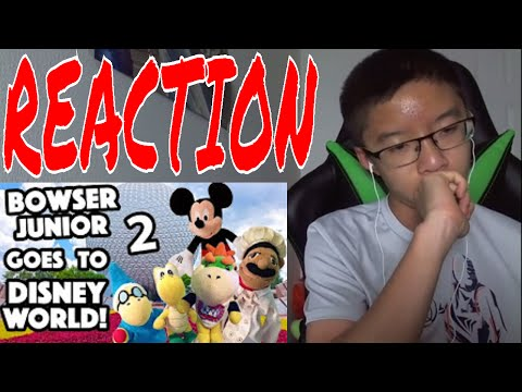 Boozled Reacts to SML Movie: Bowser Junior Goes To Disney World! Part 2