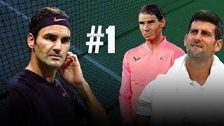 Rafael Nadal - Battle For World Number 1  (ft. Federer & Djokovic) | 2018