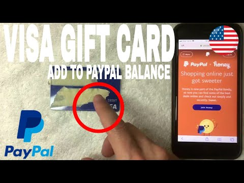 ✅  How To Add Visa Gift Card To Paypal Balance 🔴
