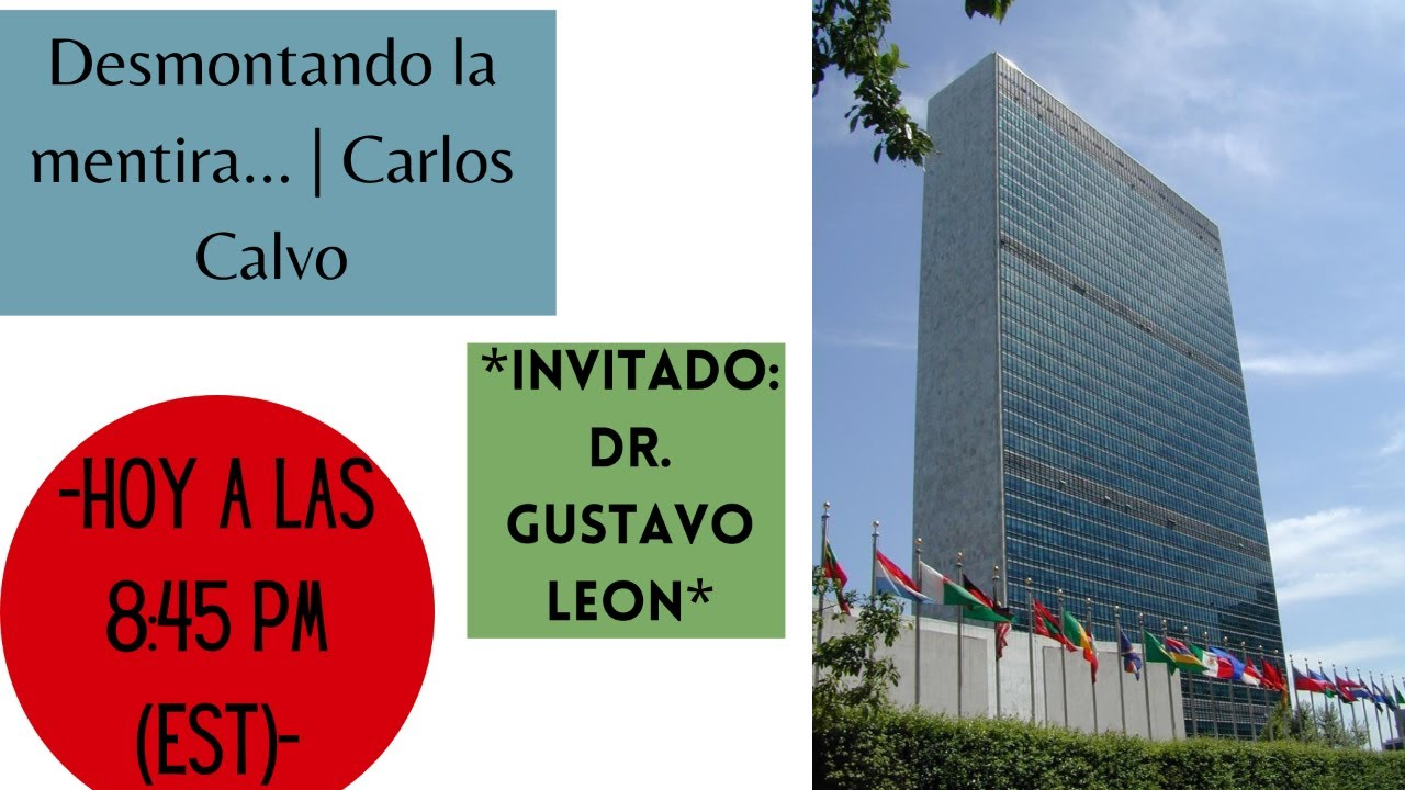 Desmontando la mentira...   Carlos Calvo