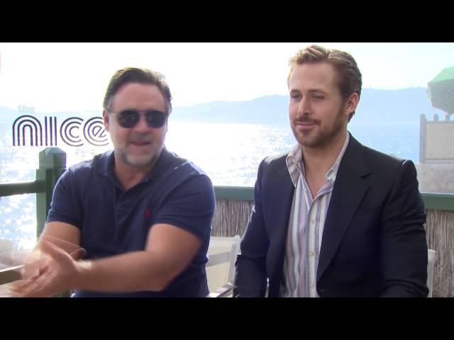 Interview Lieven Trio met Russel Crowe en Ryan Gosling: Foto van Eva De Roo