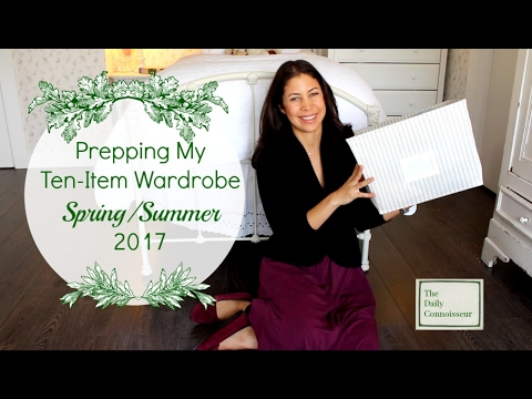 Prepping Spring Ten-Item Wardrobe | Jennifer L  Scott
