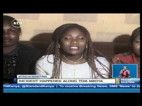 A lady stripped naked and sexually assaulted by Matatu operators thumbnail