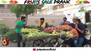 FRUIT SALE PRANK   By Nadir Ali & Team In   P4 Pakao   2018