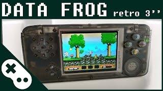 Data Frog Retro Handheld Game Console 3.0 inch screen. NEOGEO, GBC, FC, GB, GBA emulators. 818 games