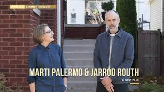 Marti Palermo & Jarrod Routh, Exterior Rehab Winner | 2020 Driehaus Bungalow Awards