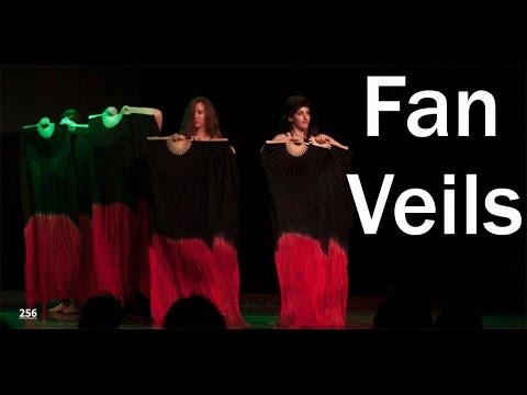 Fan veils - danse orientale - Ecole Saya