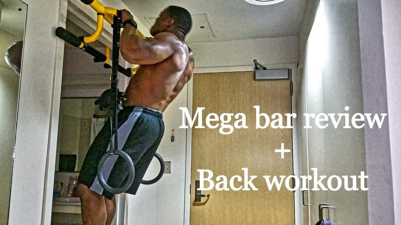 Mega Bar Review Back Workout Marines At Home Ep 2 Clifford Shockey Megabar