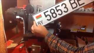Изготовление дубликата белорусского номера | Dublikatnomera.com(В видео наглядно заснята процедура изготовления дубликата белорусского автомобильного госномера в компан..., 2015-09-03T23:06:57.000Z)