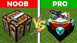 Minecraft - NOOB vs PRO : ENCHANTING and WEAPONS in Minecraft ! AVM SHORTS Animation