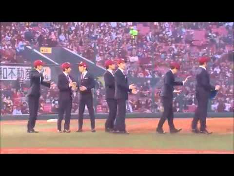 WORLD ORDER in Ceremonial first pitch 【始球式】 2015/3/31