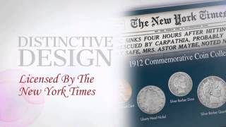 New York Times Titanic 1912 Commemorative Coin Collection -  americancointreasures.com