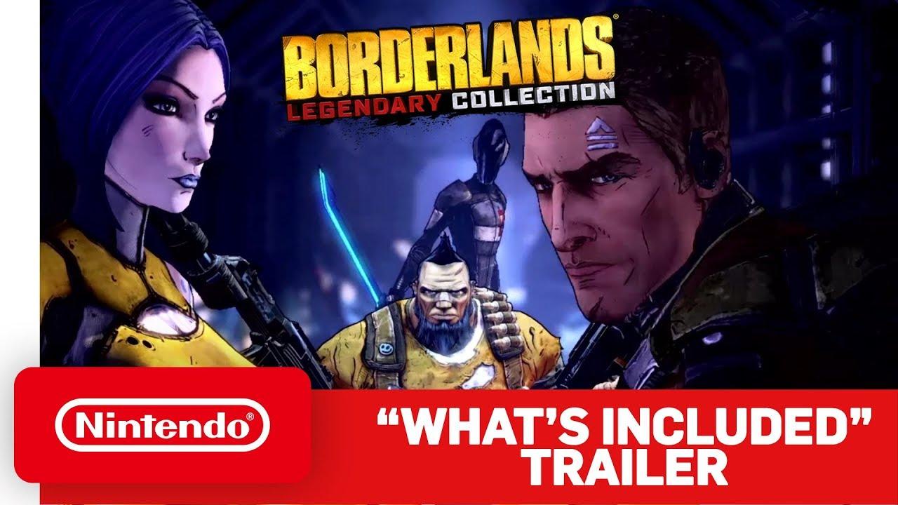 Δείτε τι περιλαμβάνει το Borderlands Legendary Collection