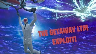 *Massive Exploit/Glitch* in Fortnite The Getaway LTM (usable rifts in Getaway)