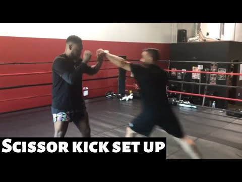 Fight Tips: Jab setup for the scissor kick takedown