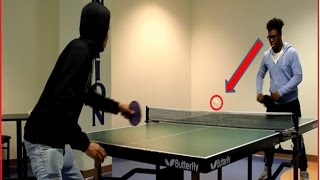 1 VS 1 Against ISSA PING PONG MATCH