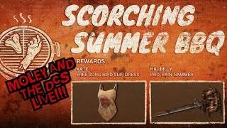 Dead by Daylight Moley & The DCS Live Scorching Summer BBQ!!!