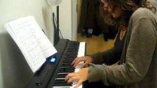 Jamie Cullum - Not While I'm Around (Piano Cover)