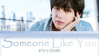 V BTS - Someone Like You (Adele Cover) SUB INDO eng/LYRICS/COLOR CODED
