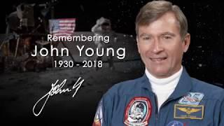 John Young - NASA's Longest Serving Astronaut