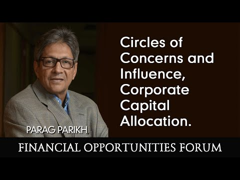 Circles of Concerns and Influence, Corporate Capital Allocation