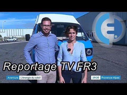 Notre passage sur le journal TV de France 3 (#EVWT)