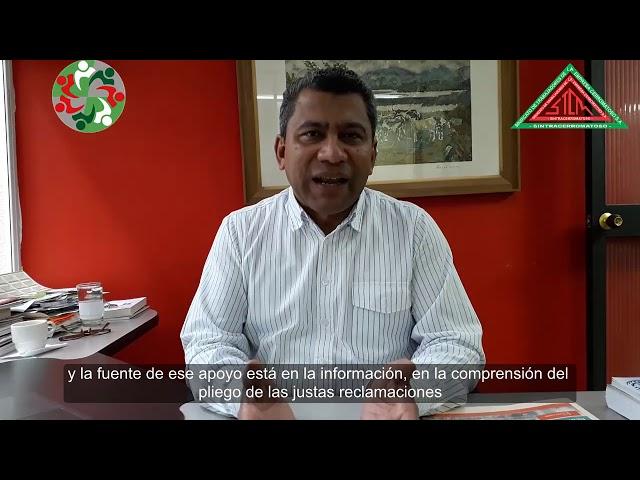 Mensaje del director de ENS a los Afiliados de SINTRACERROMATOSO