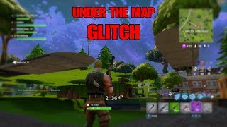 New Underneath the Map GLITCH in FORTNITE Battle Royale