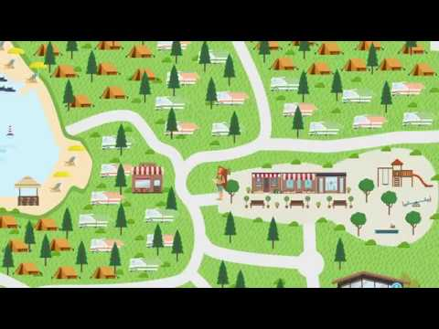 camping resort lanterna map 2017 youtube. Black Bedroom Furniture Sets. Home Design Ideas