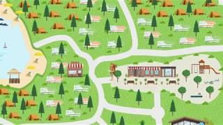 Camping Resort Lanterna Map 2017