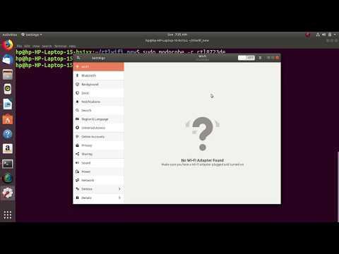 WiFi Driver Issue In Ubuntu 18.04
