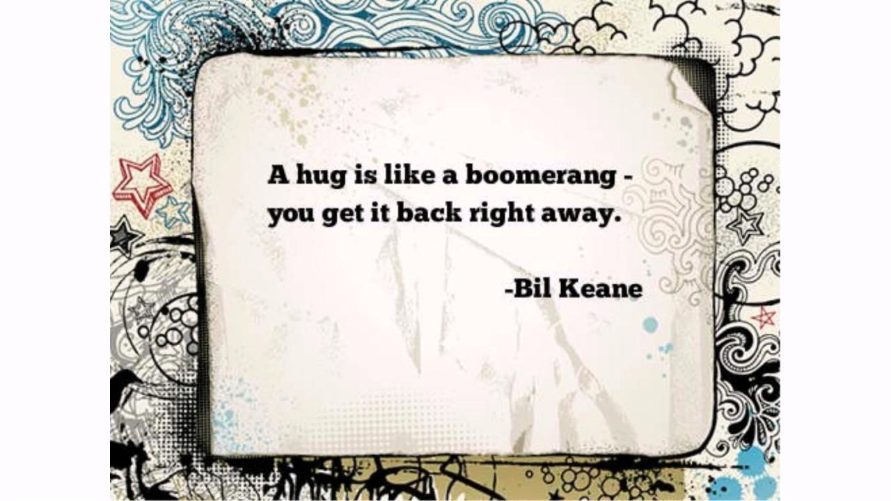 Hug Quotes Youtube