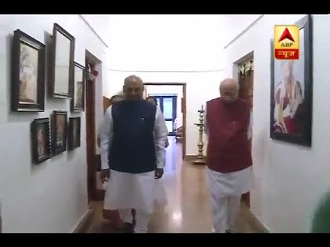 NDA's presidential candidate RamnathKovind meets LK Advani at his residence